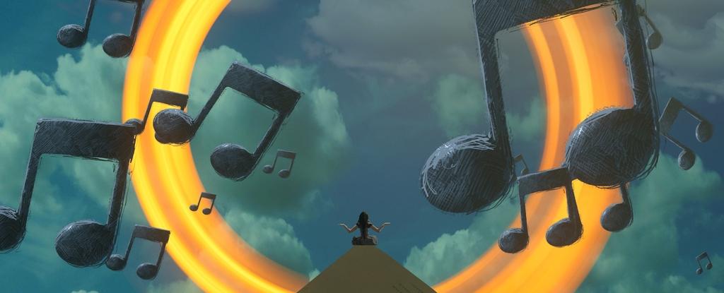 meditação e música